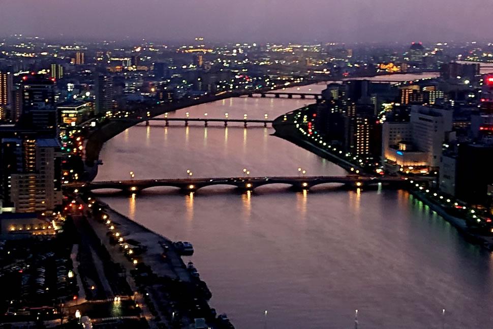 新潟県新潟市中央区 万代橋 日本海夕陽ライン